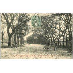 carte postale ancienne 17 ROCHEFORT-SUR-MER. Ecole de dressage des Chevaux 1907