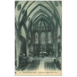 carte postale ancienne 17 ROCHEFORT-SUR-MER. Eglise Notre-Dame