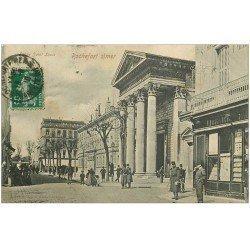 carte postale ancienne 17 ROCHEFORT-SUR-MER. Eglise Saint-Louis 1910 Librairie