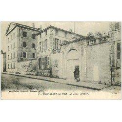 carte postale ancienne 17 ROCHEFORT-SUR-MER. Le Génie Artillerie