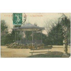 carte postale ancienne 17 ROCHEFORT-SUR-MER. Le Square Roy-Bry 1909