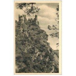 carte postale ancienne 03 CHOUVIGNY. Château Rocher Gorges de la Sioule bis