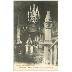 carte postale ancienne 17 ROCHEFORT-SUR-MER. Maison de Pierre Loti. La Grande Salle 1928