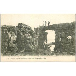 carte postale ancienne 17 ROYAN. Le Pont du Diable 1925