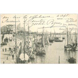 carte postale ancienne 17 ROYAN. Le Port 1902