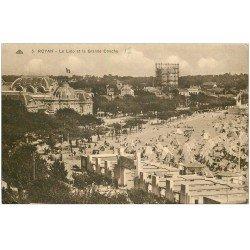 carte postale ancienne 17 ROYAN. Lido et Grande Conche 1932