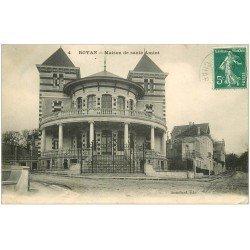 carte postale ancienne 17 ROYAN. Maison de Santé Amiot 1910