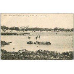 carte postale ancienne 17 ROYAN. Plage de Saint-Georges. Les Boucholeuses 1907. Crustacés et Pêcheuses