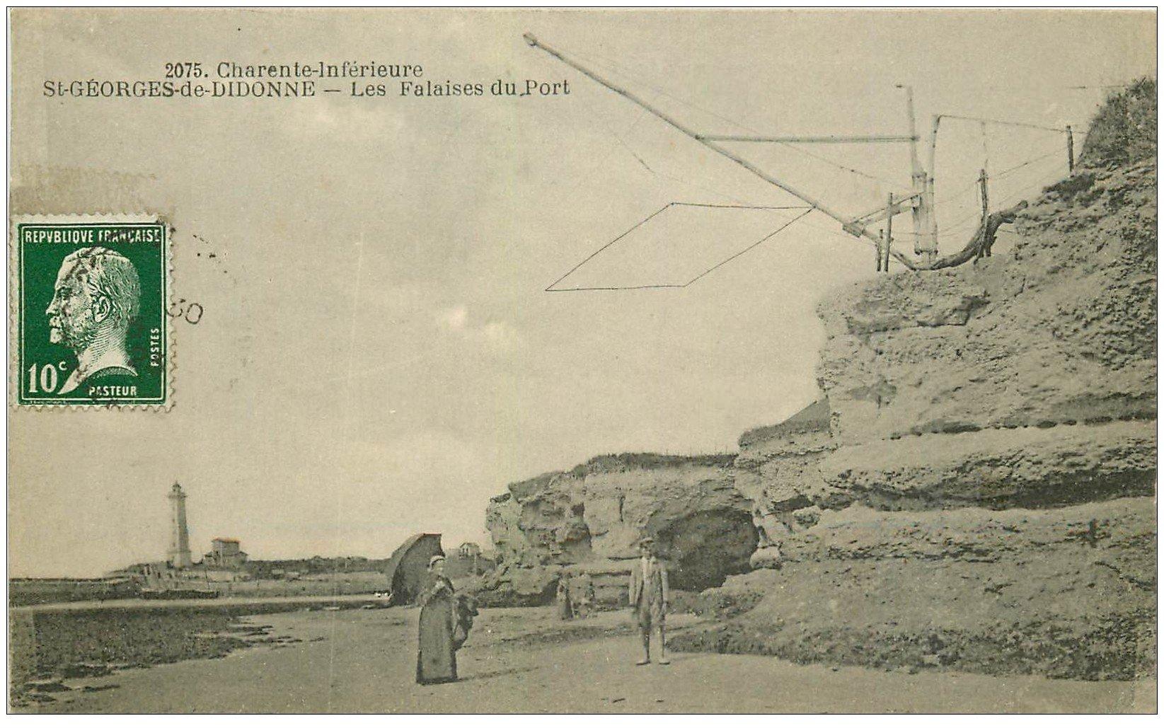 17 saint georges de didonne les falaises du port avec - Office du tourisme saint georges de didonne ...