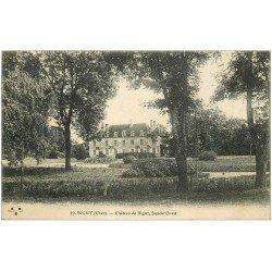 carte postale ancienne 18 BIGNY. Le Château de Bigny 1915
