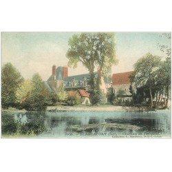 carte postale ancienne 18 BLANCAFORT. Château de l'Hôpital vers 1907. Collection Marchand