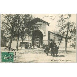 carte postale ancienne 18 BOURGES. Abattoir Public 1910