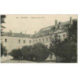 carte postale ancienne 18 BOURGES. Collège de Jeubnes Filles 1915