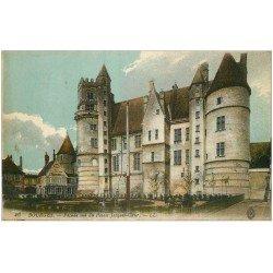 carte postale ancienne 18 BOURGES. Façade Palais Jacques-Coeur 1916