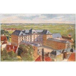 """carte postale ancienne 18 BOURGES. La Caserne Condé. Edition """""""" Tuck """""""""""
