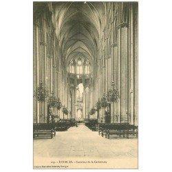 carte postale ancienne 18 BOURGES. La Cathédrale l'intérieur 109