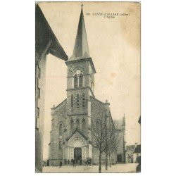 carte postale ancienne 03 COSNE-D'ALLIER. L'Eglise
