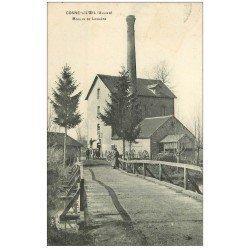 carte postale ancienne 03 COSNE-SUR-L'OEIL. Moulin de Laugère vers 1910