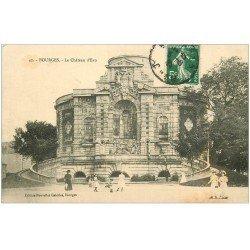carte postale ancienne 18 BOURGES. Les Château d'Eau animé 1911