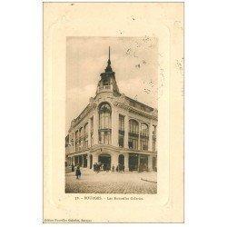 carte postale ancienne 18 BOURGES. Les Nouvelles Galeries animées 1913. Edition du même nom