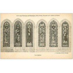 carte postale ancienne 18 BOURGES. Les Vitraux. Les Apôtres