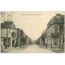 18 BOURGES. Rue de Dun sur Auron 1919. Dépot Comptoir et débit de Poudre, Tabac de Cantine et Cartes Postales