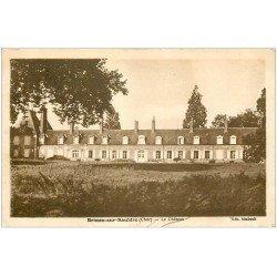 carte postale ancienne 18 BRINON-SUR-SAULDRE. Le Château 1938