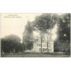carte postale ancienne 18 BUSSY. Château de la Vevre