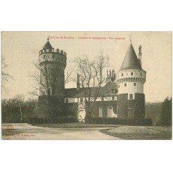 carte postale ancienne 18 Château de Grossouvre environs de Sancoins