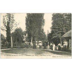 carte postale ancienne 03 CUSSET. Parc des Sources Andreau 1908