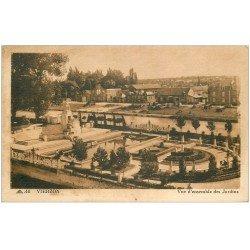carte postale ancienne 18 VIERZON. Les Jardins
