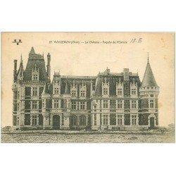 carte postale ancienne 18 VOUZERON. Le Château