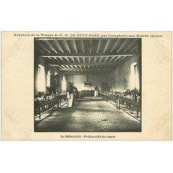 carte postale ancienne 03 DOMPIERRE-SUR-BESBRE. Sept-Fons. Préparatifs repas