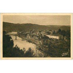 carte postale ancienne 19 ARGENTAT. La Dordogne 1936