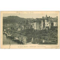 carte postale ancienne 19 ARGENTAT. L'Escondamine 1904
