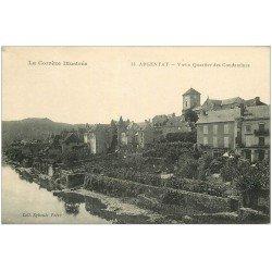 carte postale ancienne 19 ARGENTAT. Vieux Quartier des Condamines n°35