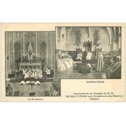 carte postale ancienne 03 DOMPIERRE-SUR-BESBRE. Sept-Fons. Prise d'habit et Profession