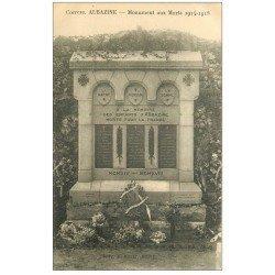 carte postale ancienne 19 AUBAZINE. Monument aux Morts