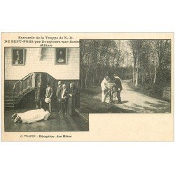 carte postale ancienne 03 DOMPIERRE-SUR-BESBRE. Sept-Fons. Réception des Hôtes