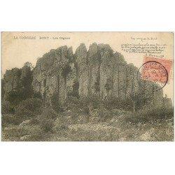 carte postale ancienne 19 BORT. Les Orgues 1905