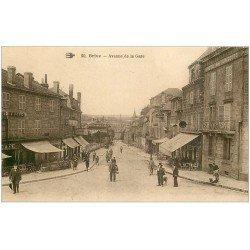 carte postale ancienne 19 BRIVE. Avenue de la Gare. Hôtel de France et des Voyageurs n°20