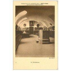 carte postale ancienne 03 DOMPIERRE-SUR-BESBRE. Sept-Fons. Scriptorium