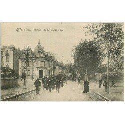 carte postale ancienne 19 BRIVE. La Caisse d'Epargne 1915