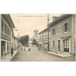 carte postale ancienne 01 Divonne-les-Bains. Route de Crassier Hôtel du Mouton Noir