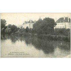 carte postale ancienne 03 EBREUIL. Bords de la Sioule