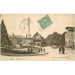 carte postale ancienne 19 BRIVE. Square Majour 1921