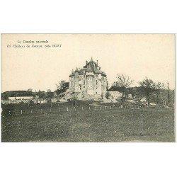 carte postale ancienne 19 CHATEAU DE COUZAN