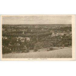 carte postale ancienne 03 GANNAT. Vue générale du Village