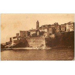 carte postale ancienne 20 BASTIA. La Citadelle et entrée du Vieux Port n°39