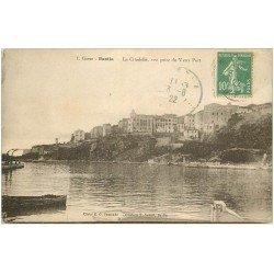 carte postale ancienne 20 BASTIA. La Citadelle n°1 1922